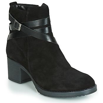 Zapatos Mujer Botas de caña baja André MIDWEST Negro