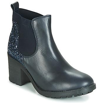 Zapatos Mujer Botas de caña baja André MARY Azul