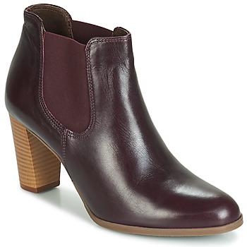 Zapatos Mujer Botas de caña baja André ROSIE Burdeo