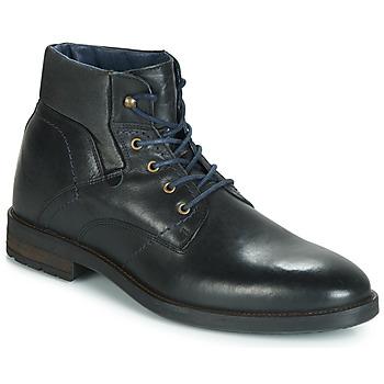Zapatos Hombre Botas de caña baja André VALCOURT Negro