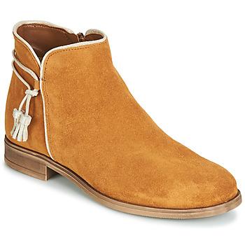 Zapatos Mujer Botas de caña baja André BILLY Camel