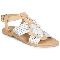 Zapatos Mujer Sandalias André NIRVANA Blanco