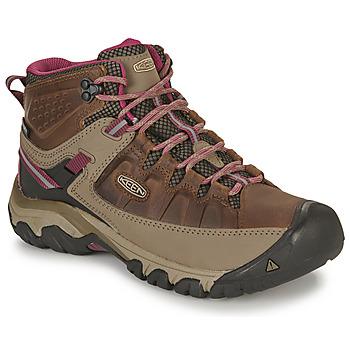 Zapatos Mujer Senderismo Keen TARGHEE III MID WP Marrón / Rosa