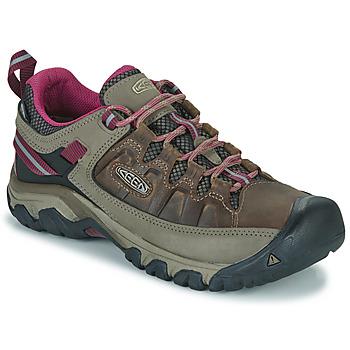 Zapatos Mujer Senderismo Keen TARGHEE III WP Marrón / Rosa