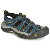 Zapatos Hombre Sandalias de deporte Keen NEWPORT H3 Marino