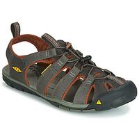 Zapatos Hombre Sandalias de deporte Keen MEN CLEARWATER CNX Gris / Marrón