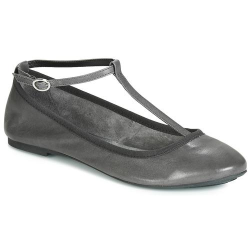 André LILAS Gris - Envío gratis | ! - Zapatos Bailarinas Mujer