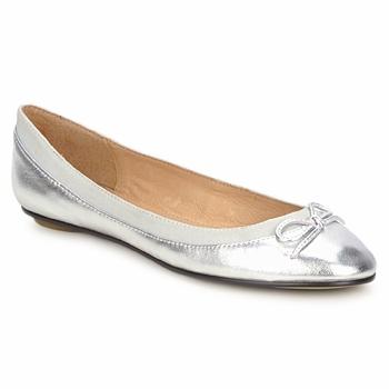 Zapatos Mujer Bailarinas-manoletinas Buffalo BABY BILL Plateado