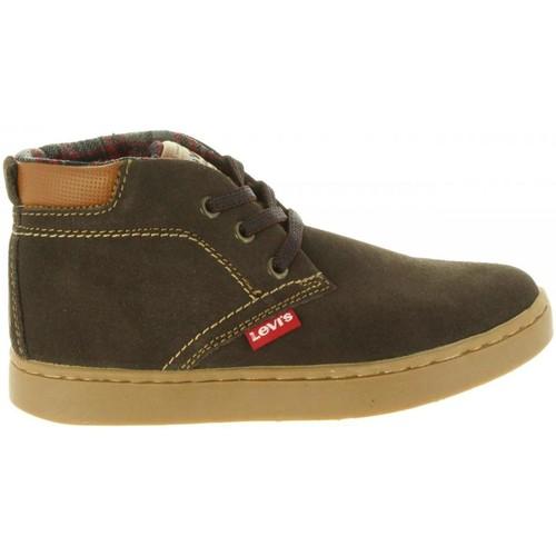 Zapatos Niños Botas de caña baja Levi's VCAM0001L CAMBRIDGE Marr?n