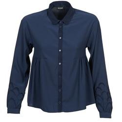 textil Mujer camisas Kookaï QUELATE Marino