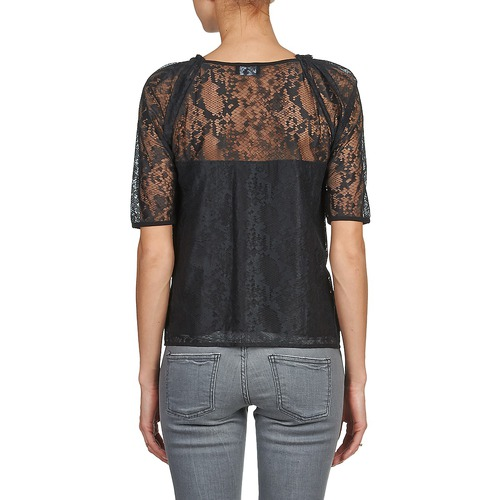 Textil Negro TopsBlusas Kookaï Mujer Basaloui cFJKTl1