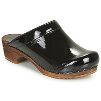 Zapatos Mujer Zuecos (Clogs) Sanita CLASSIC PATENT Negro