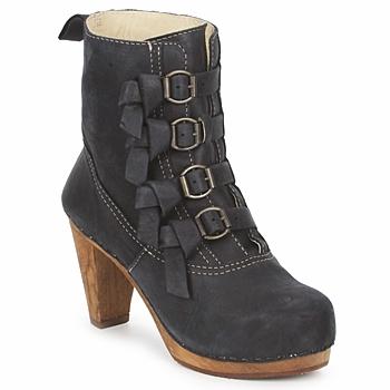 Zapatos Mujer Botines Sanita ELM CONE Negro