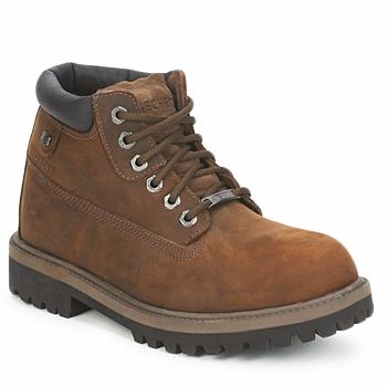 Zapatos Hombre Botas de caña baja Skechers SERGEANTS VERDICT Marrón