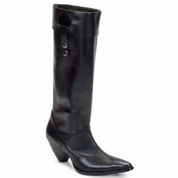 Zapatos Mujer Botas urbanas Stephane Gontard PUCCINI Negro