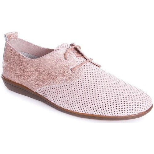 Zapatos Mujer Derbie 24 Hrs 23538 Rosa