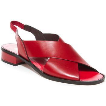 Zapatos Mujer Sandalias Plumers 3840 Rojo