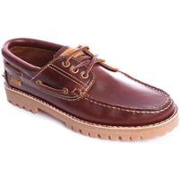 Zapatos Hombre Zapatos náuticos Camper 15233-001 Marrón