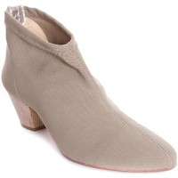 Zapatos Mujer Botines Baton Rouge 698456 Beige
