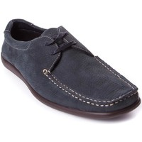 Zapatos Hombre Mocasín Frau 14E5 Azul