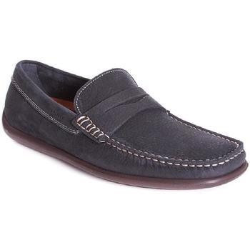 Zapatos Hombre Mocasín Frau 14E2 Azul