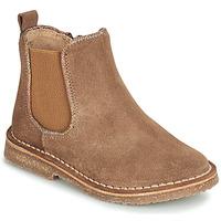 Zapatos Niña Botas de caña baja André ARIA Camel