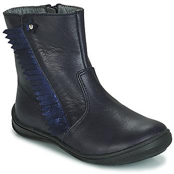 Zapatos Niña Botas de caña baja André INDIANA Marino