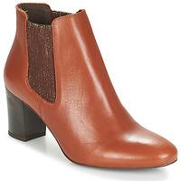 Zapatos Mujer Botas de caña baja André FONDANT Camel