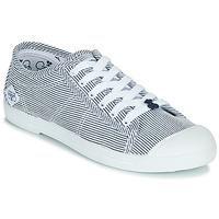 Zapatos Mujer Zapatillas bajas Le Temps des Cerises BASIC 02 Azul / Blanco