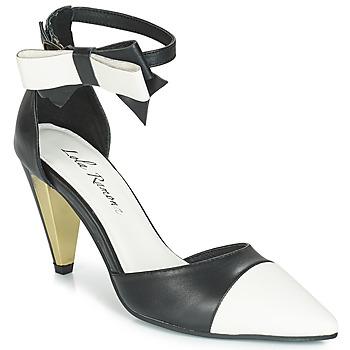 Zapatos Mujer Sandalias Lola Ramona RAMONA Negro / Blanco