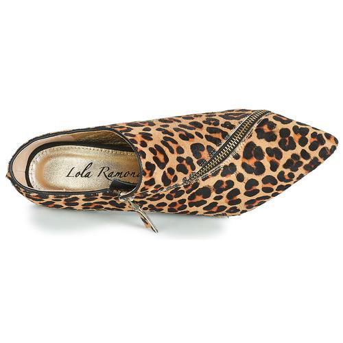 Zapatos Leopardo Ramona Botines Mujer Lola vnwO8y0PmN