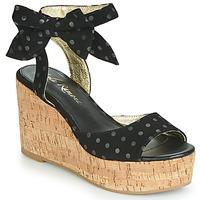 Zapatos Mujer Sandalias Lola Ramona NINA Negro