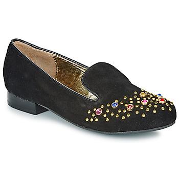 Zapatos Mujer Mocasín Lola Ramona PENNY Negro / Oro