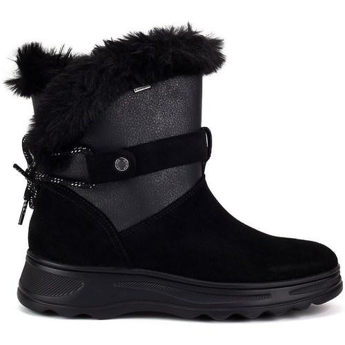 Zapatos Mujer Botas de nieve Geox Hosmos Abx Negros