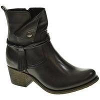 Zapatos Mujer Botines Cumbia 31084 Negro