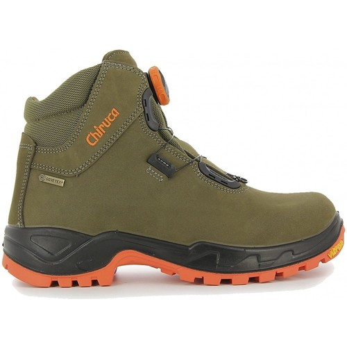 Zapatos Senderismo Chiruca Botas  Cares Boa 08 Hi Vi Gore-Tex Verde