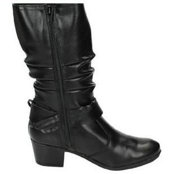 Zapatos Mujer Botas urbanas Aback Botas de piel Negro