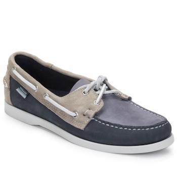 Zapatos Hombre Zapatos náuticos Sebago SPINNAKER Navy / Blanco / Azul