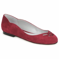 Zapatos Mujer Bailarinas-manoletinas Fred Marzo MOMONE FLAT Burdeo