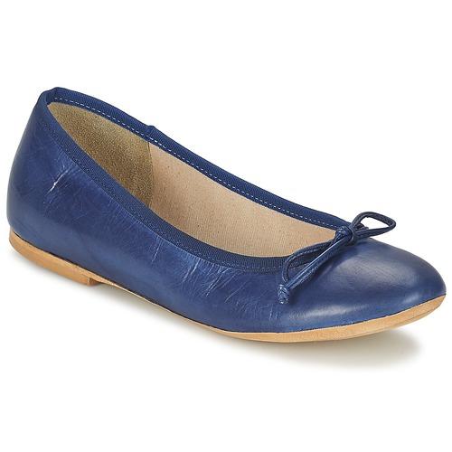 Zapatos Mujer Bailarinas-manoletinas Betty London OMISTA Azul