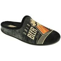 Zapatos Hombre Pantuflas Calzamur 1251 negro