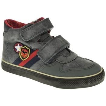 Zapatos Niño Zapatillas altas Pablosky BOTIN NIÑO  GRIS Gris