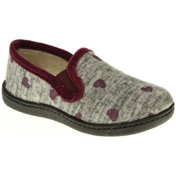 Zapatos Niña Pantuflas Roal 12011 rojo
