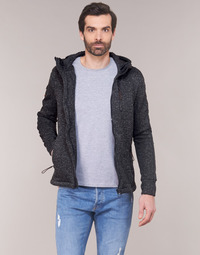 textil Hombre sudaderas Superdry STORM INTERNATIONAL ZIPHOOD Negro