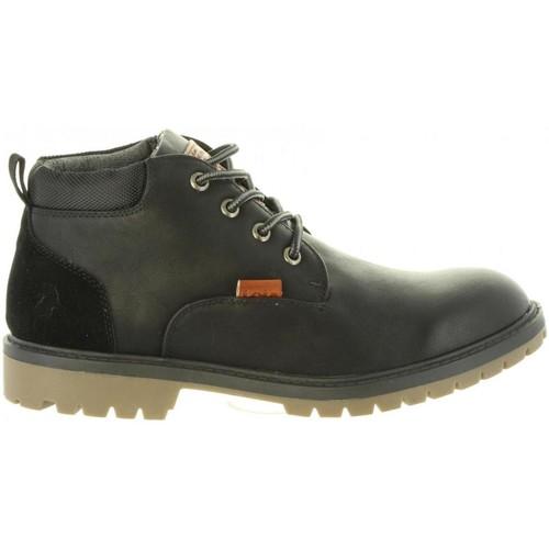 Zapatos Hombre Botas urbanas Lois 84348 Negro