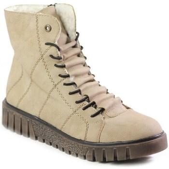 Zapatos Mujer Botas de caña baja Rieker Y342060 Beige