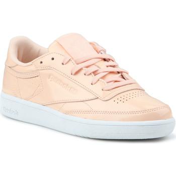 Zapatos Mujer Zapatillas bajas Reebok Sport Club C 85 Patent BS9778 naranja