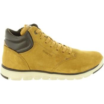 Zapatos Niños Botas de caña baja Geox J843NA 022BC J XUNDAY Amarillo