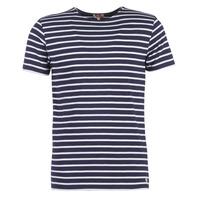 textil Hombre camisetas manga corta Armor Lux TALOPO Marino / Blanco