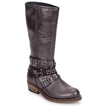Zapatos Niña Botas urbanas Hip NIEGRA Marrón